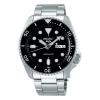Seiko Herrenuhr SRPD55K1 Automatik Armbanduhr Sports Gangreserve 41 Std