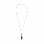 Leonardo Damen Kette 015174 Halskette schwarz Eleganza Damenkette