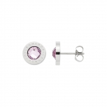 Leonardo Ohrringe 015781 Ohrstecker matrix Light Pink
