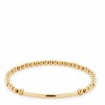 Leonardo Damen Armband 015914 Damenarmband  Poesia Darlin's Elastisch Gold