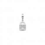 Leonardo Anhänger 016078 Segreto klein Darlin´s Charm Schloss Silber