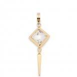 Leonardo Anhänger 016099 Grafico Mini-Clip Darlin's Charms Gold