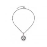 Leonardo Damen Kette 016171 Halskette Elegia Set Kette+Anhänger Silberkette