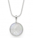 Leonardo Damen Kette 016180 Halskette Caro Set Kette + Anhänger Silberkette