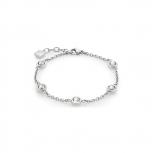 Leonardo Damen Armband 016291 Essenza Armkette Silber