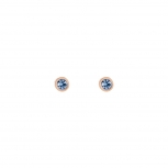 COEUR-DE-LION Ohrringe 0228210720 hellblau Kristall Ohrstecker roségold