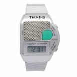 Herrenuhr 1-104276-001 sprechende Armbanduhr,Blindenuhr,Sprachansage