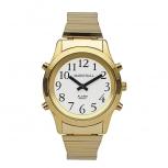 Herrenuhr 1-109624 sprechende Armbanduhr Blindenuhr Sprachansage