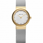 Bering Damenuhr 10122-001 XS Classic Silber Gold Uhr Armbanduhr