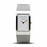 Bering Damenuhr 10222-010 Uhr Silber Armbanduhr Schmuckuhr Eckig