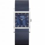 Bering Damenuhr 10426-307 Classic Blau Silber Uhr Armbanduhr