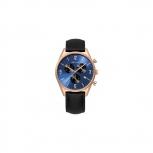 Bering Herrenuhr 10542-567 Schwarz Rosegold Uhr Chronograph