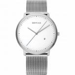 Bering Herrenuhr 11139-004 Uhr Armbanduhr Silber Schlicht