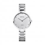 Bering Damenuhr 11334-770 Uhr Titan Armbanduhr Antiallergisch