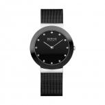 Bering Damenuhr 11435-102 Ceramic Silber Uhr Damen Armbanduhr