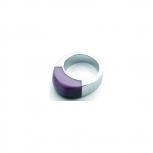 Leonardo Damenring 011554 Ring prestige lila Neuheit