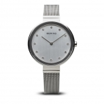 Bering Damenuhr 12034-000 Classic Silber Uhr Armbanduhr Schmuckuhr