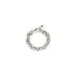 Leonardo Damen Armband 013773 Twirl Steel Silberarmband Neu