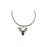 Leonardo Damen Kette 013955 Halskette Splendor Leder