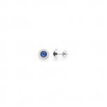 Leonardo Ohringe 013986 matrix blau Ohrstecker