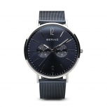 Bering Herrenuhr 14240-303 Uhr Herren Dunkel Blau Uhr Armbanduhr