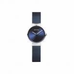 Bering Damenuhr 14526-307 Armbanduhr Damenuhr Uhr Blau Silber