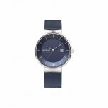 Bering Herrenuhr 14639-307 Blau Silber Uhr Solar Solaruhr Armbanduhr
