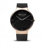 Bering Herrenuhr 15540-262 Max René Saphirglas Roségold Uhr Armbanduhr