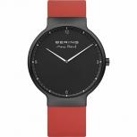 Bering Herrenuhr 15540-523 Max René Saphirglas Armbanduhr Rot Uhr