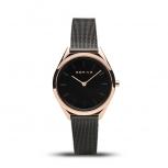 Bering Damenuhr 17031-166 Ultra Slim Armbanduhr Schmuckuhr Uhr Rose