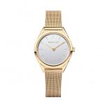 Bering Damenuhr 17031-334 Ultra Slim Armbanduhr Schmuckuhr Uhr Gold
