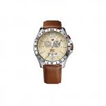 TommyHilfiger Herrenuhr 1790973 Armbanduhr Uhr GMT Multifunktion Zeitzone