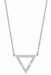 s.Oliver Damen Kette 2012498 Silber Silberkette Schmuck Dreieck