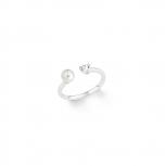 s.Oliver Damenring 2012540 Silber Ring Gr.54 Perle