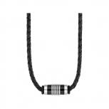 s.Oliver Herren Kette 2012595 Lederkette Surferkette Herrenkette Halskette