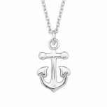 s.Oliver Damen Kette 2015006 Halskette Schmuck Silberkette Anker Kinderkette