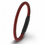 s.Oliver Herren Armband 2015056 Rot Schwarz Herrenarmband