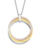 s.Oliver Damen Kette 2015117 Silber Schmuck  Halskette
