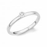 s.Oliver Damenring 2017205 Silber Fingerring Gr.54 Damen Ring
