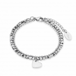 s.Oliver Damen Armband 2018344 Damenarmband Armkette Herz Liebe