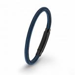 s.Oliver Herren Armband 2020885 Blau Schwarz Herrenarmband