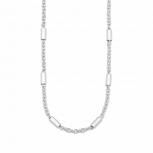 s.Oliver Damen Kette 2021019 Silber Collier Halskette Halsschmuck 45 cm