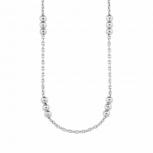 s.Oliver Damen Kette 2021021 Silber Collier Halskette Halsschmuck 45 cm