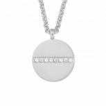 s.Oliver Damen Kette 2021096 Silber Collier Halskette Kreis Halsschmuck