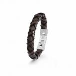 s.Oliver Herren Armband 2022618 Armkette Herrenarmband Lederarmband Leder