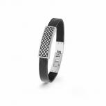 s.Oliver Herren Armband 2022627 Armkette Herrenarmband Lederarmband Leder