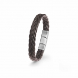 s.Oliver Unisex Armband 2022645 Armkette Schmuckarmband Herrenarmband Leder