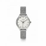 Joop Damenuhr 2022838 Kornblume Damen Uhr Armbanduhr Silber