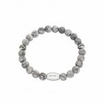 Joop Damen Armband 2023476 Grey Grau Jaspis Herrenarmband Schmuckarmband