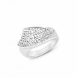 Joop Damenring 2023497 Ring Silber Fingerring Schmuckring Gr. 58